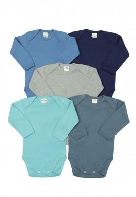 Kit 5 peças body Best Club Baby azul