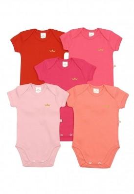 Kit 5 peças body Best Club Baby pink