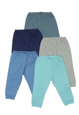 Kit 5 peças calça Best Club Baby azul