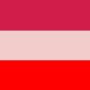 Pink, Rosa e Vermelho