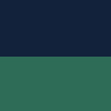 Azul Marinho e Verde