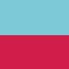 Azul Turquesa e Pink