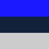 Azul, Azul Marinho e Cinza Claro