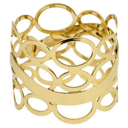 Anel de Guardanapo Espanha Dourado