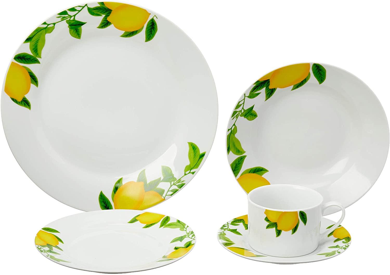 Aparelho de Jantar 20pçs Lemons