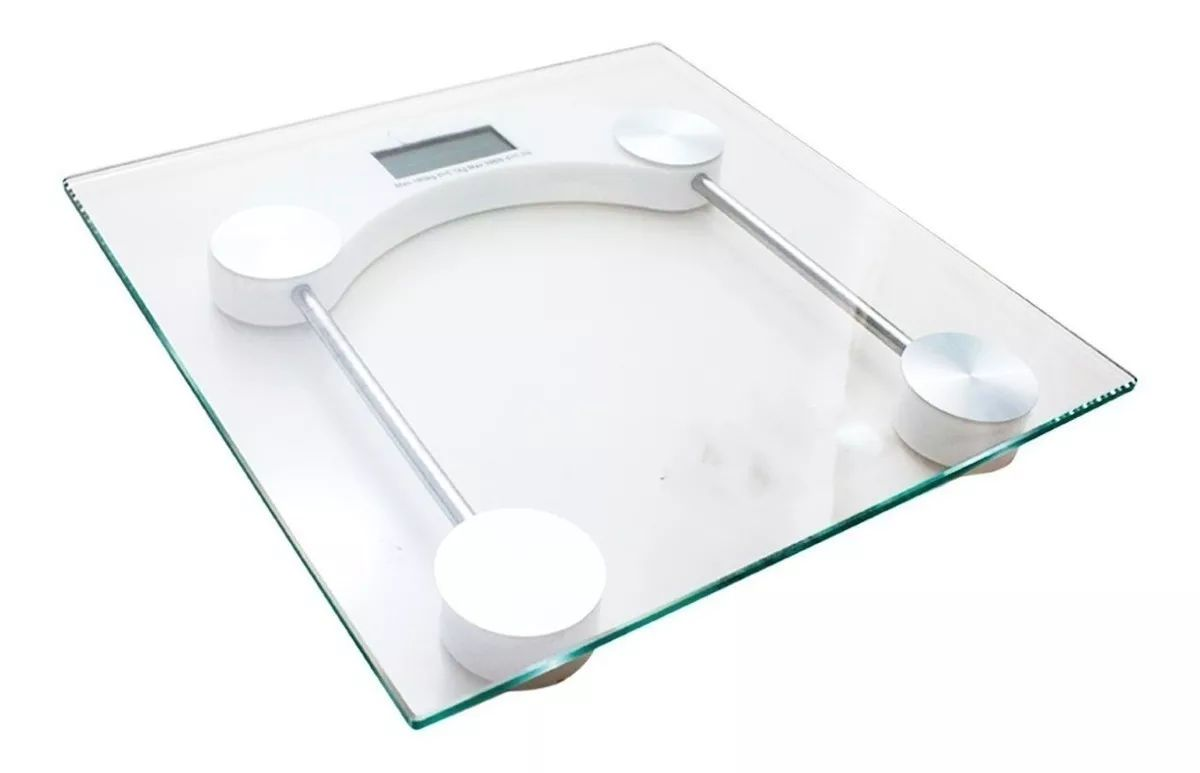 Balança Digital de Banheiro Capacidade para 180Kg 31x31 cm