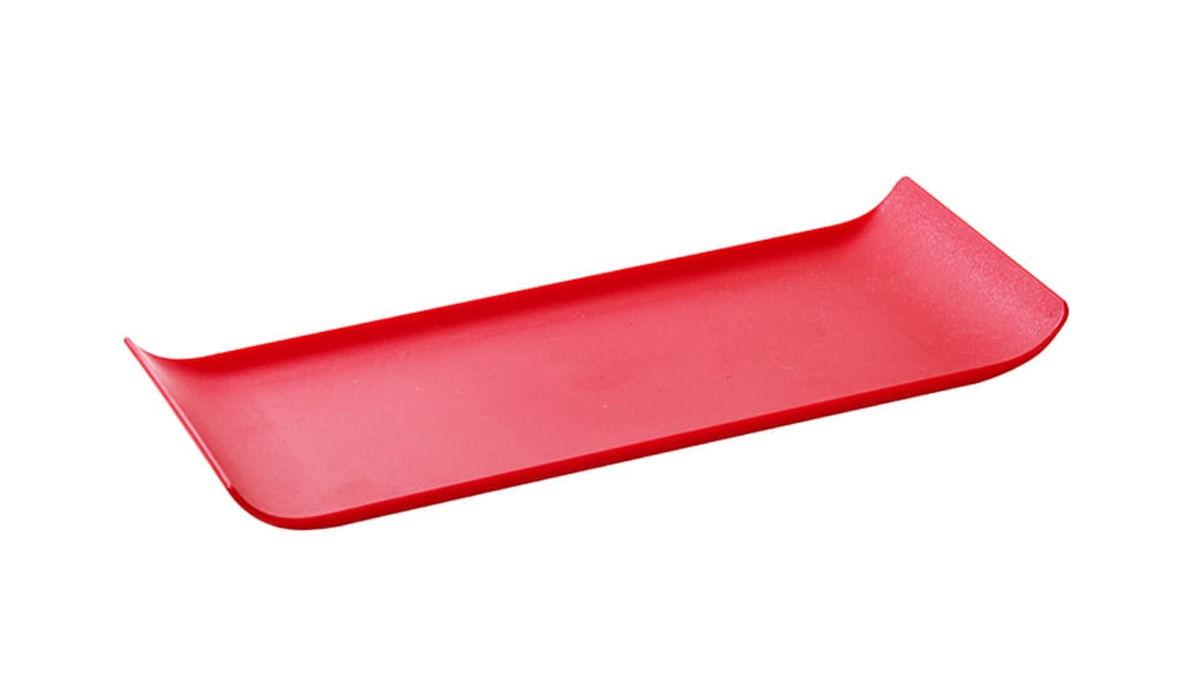 Bandeja Coffe 15x30cm Vermelha