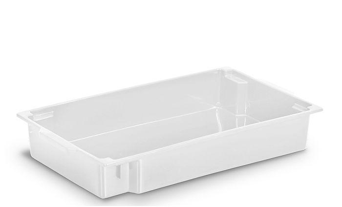 Bandeja Comercial 11L Branca de Plástico