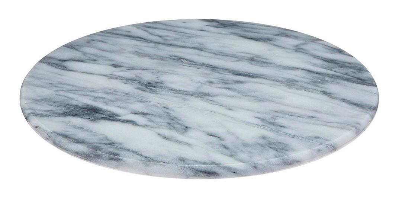 Bandeja Giratória de Marmore 30cm