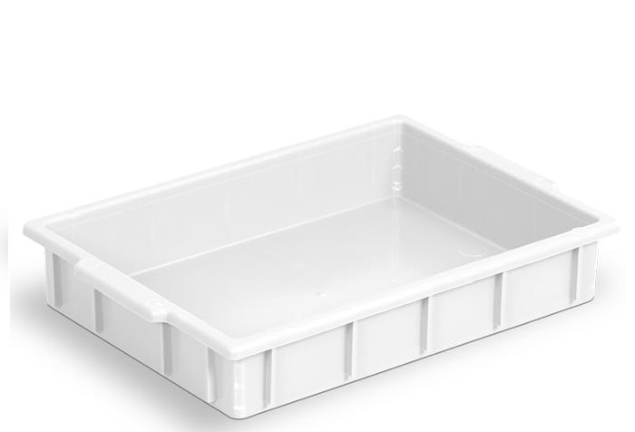 Bandeja para Freezer 7L Branca de Plástico