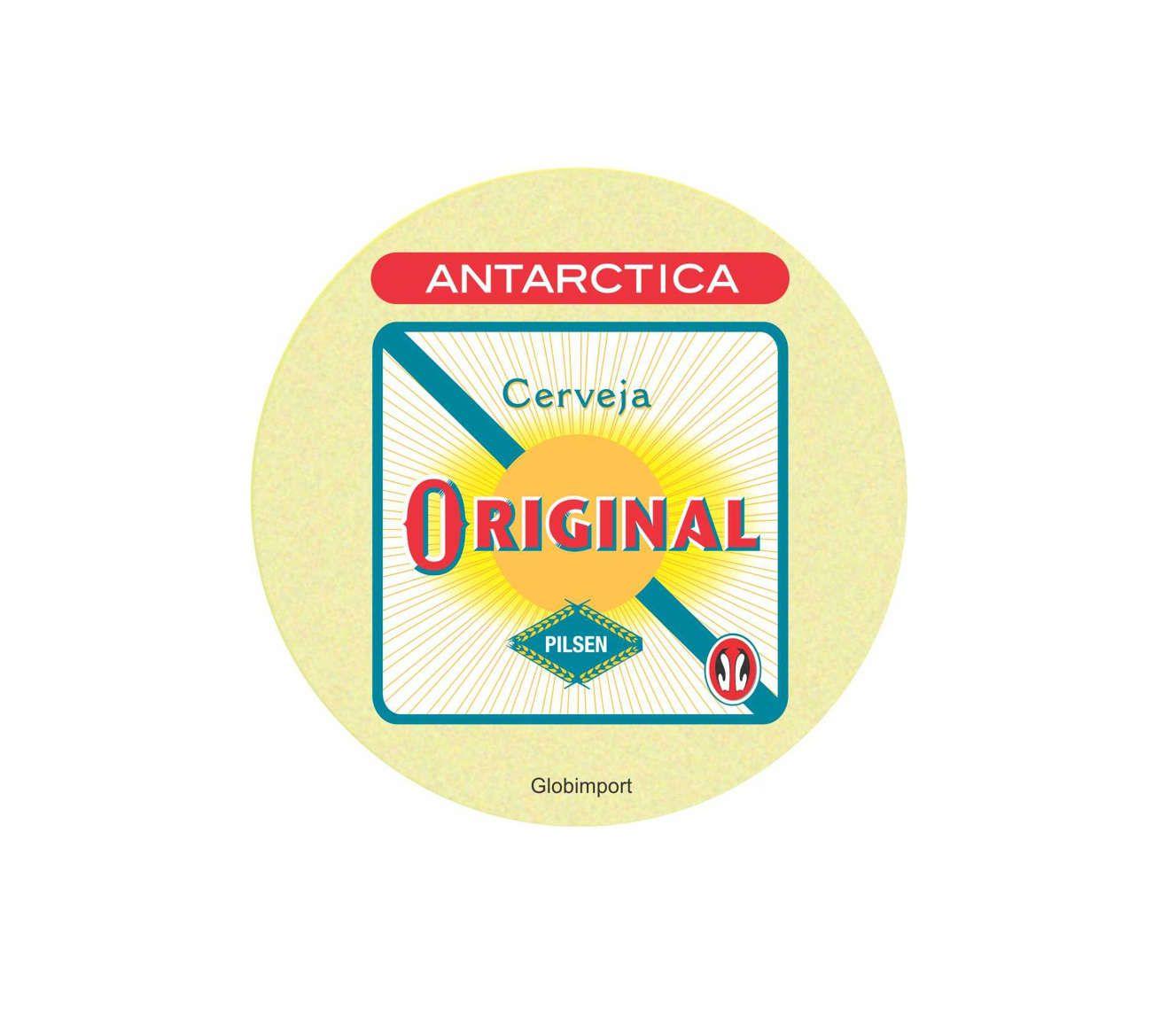 Bolacha Chopp Antarctica Original 24pçs