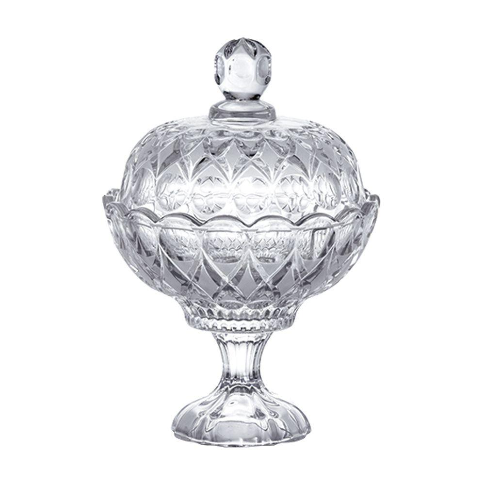Bomboniere de Cristal com Pé 16,5cm Angelica