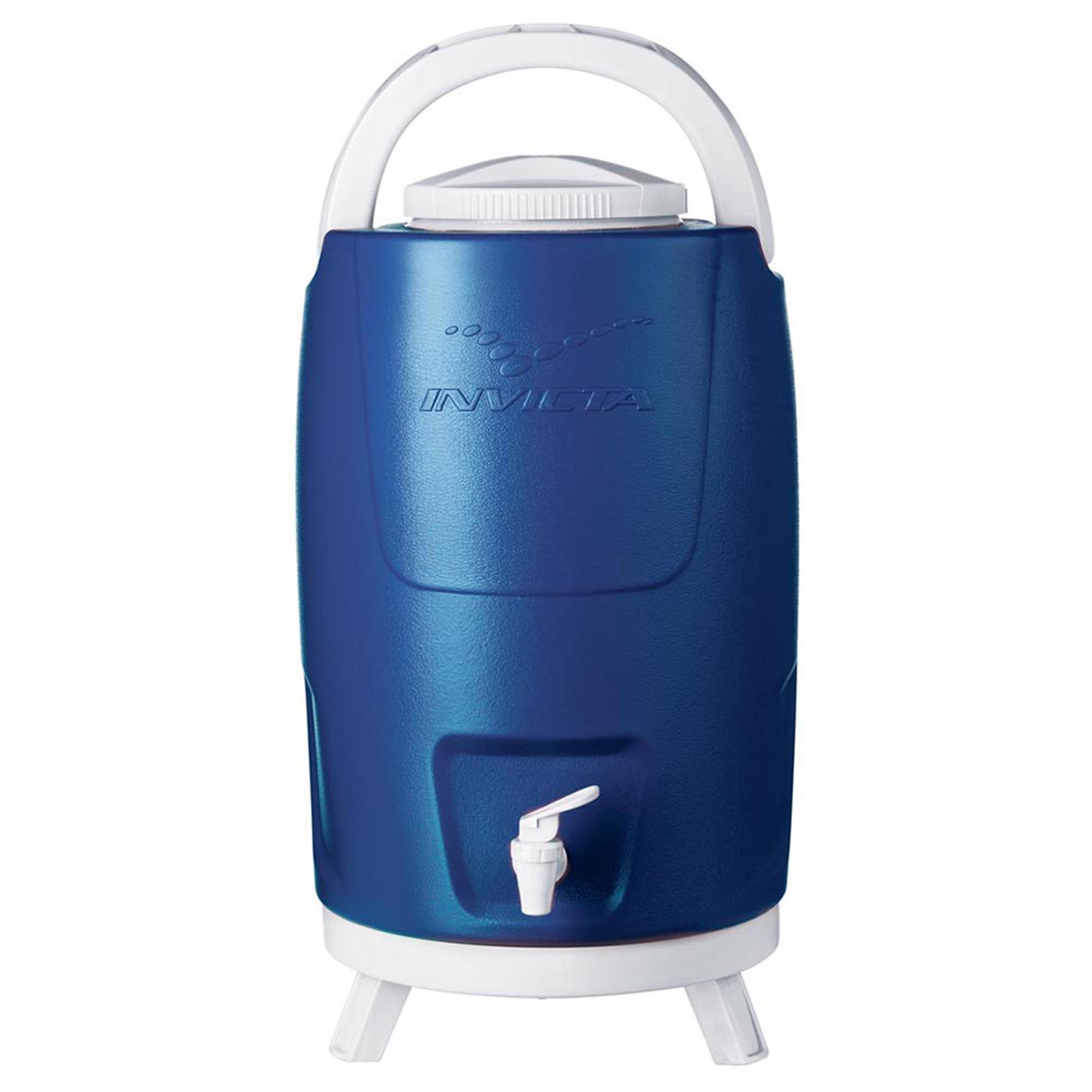 Botijão Térmico com Torneira 12,0 L Azul