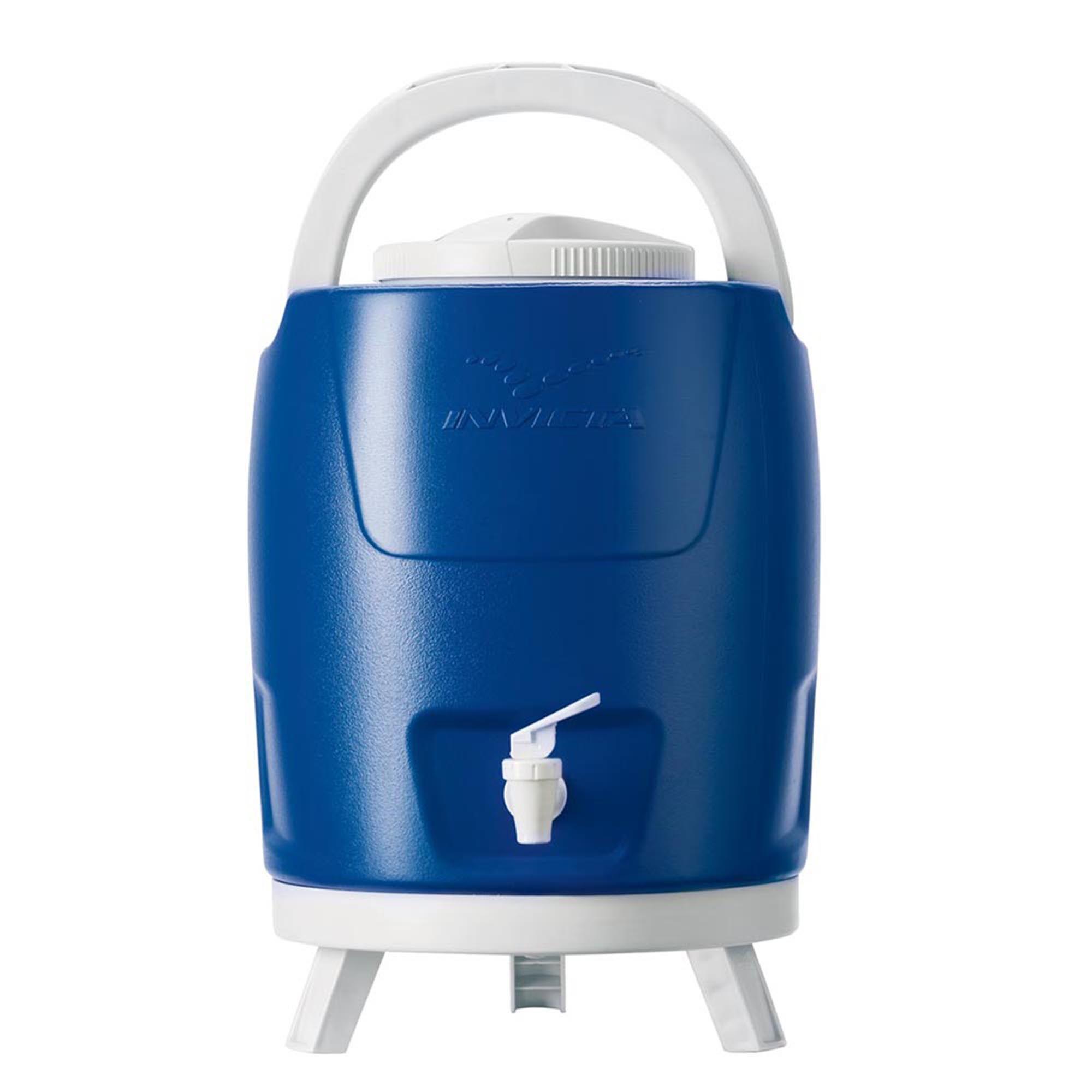 Botijão Térmico com Torneira 9,0L Azul