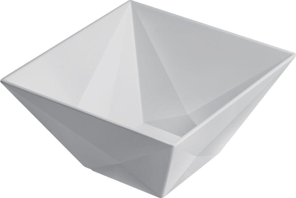 Bowl Diamond de Melamina 17,5 x 17,5cm