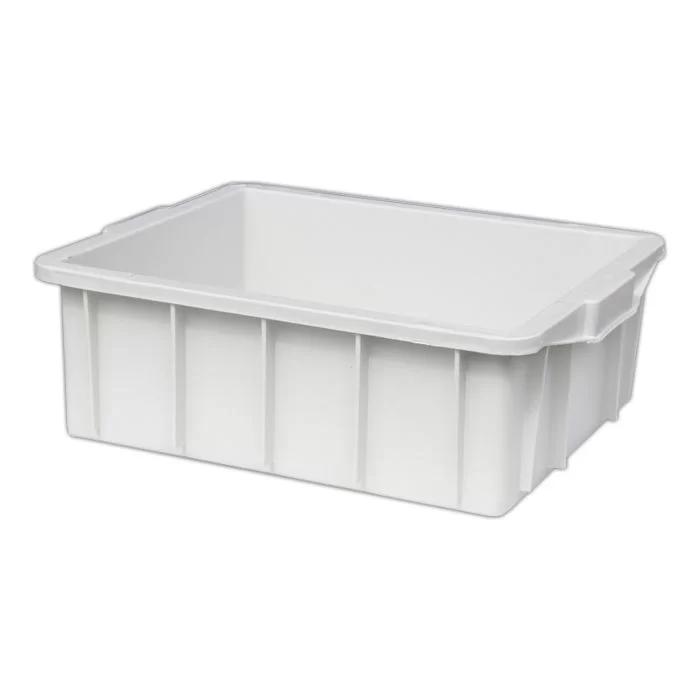 Caixa 15L Branca de Plástico