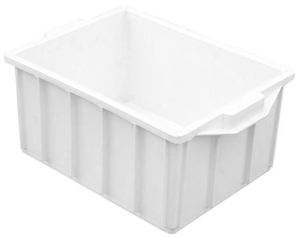 Caixa 36L Branca de Plástico