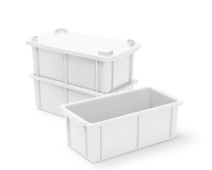 Caixa 4,2L Branca de Plástico