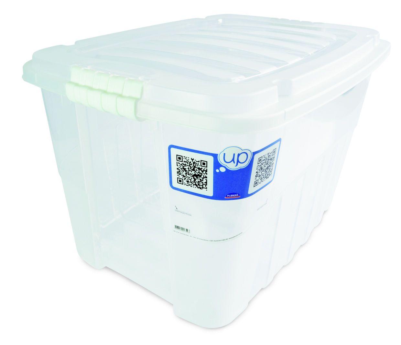Caixa Gran Box Alta 56,0 L Transparente