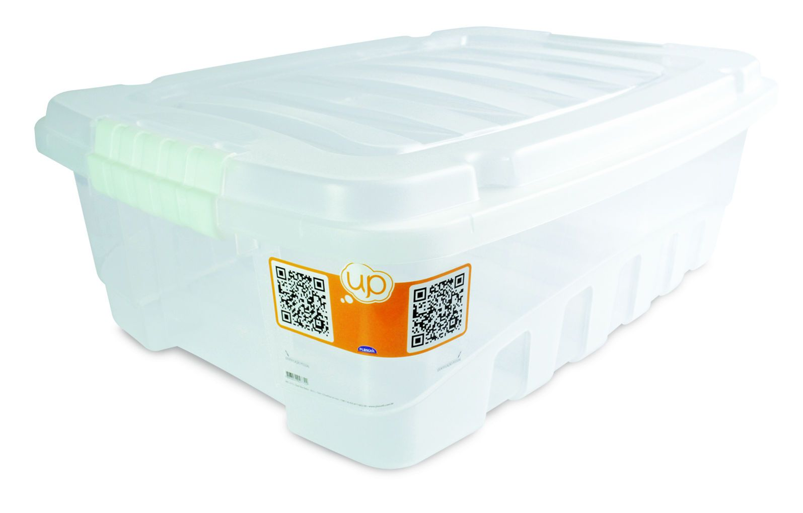 Caixa Gran Box Baixa 38,0 L Transparente