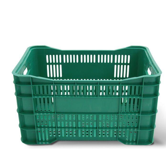 Caixa Hortifruti 60L Verde