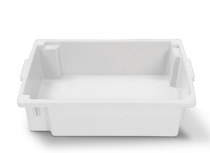 Caixa para frigorífico 34L Branca de Plástico