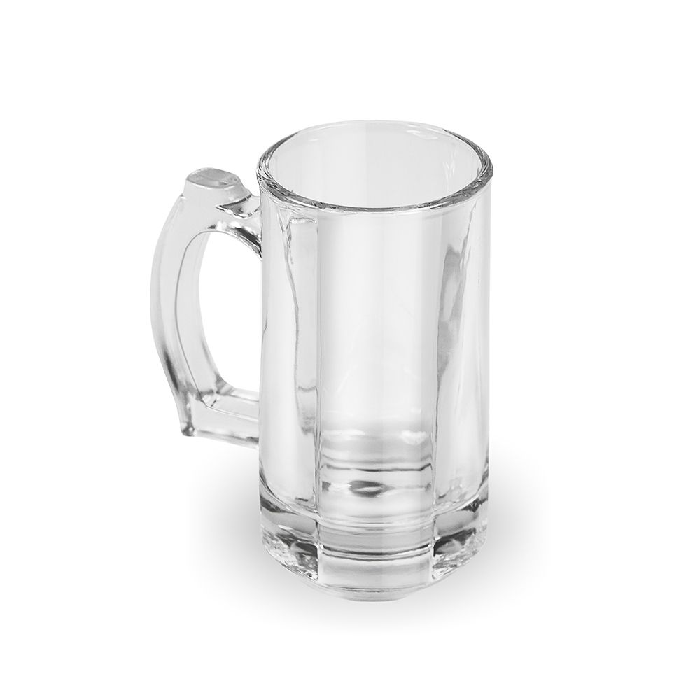 Caneca Beer de Vidro 360ml - Especial para Freezer