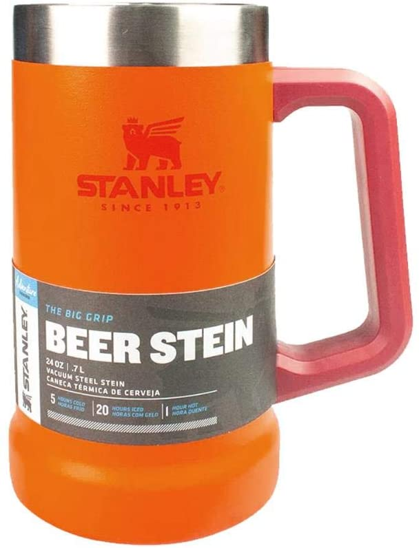 Caneca Térmica de Cerveja Laranja Stanley 709ml
