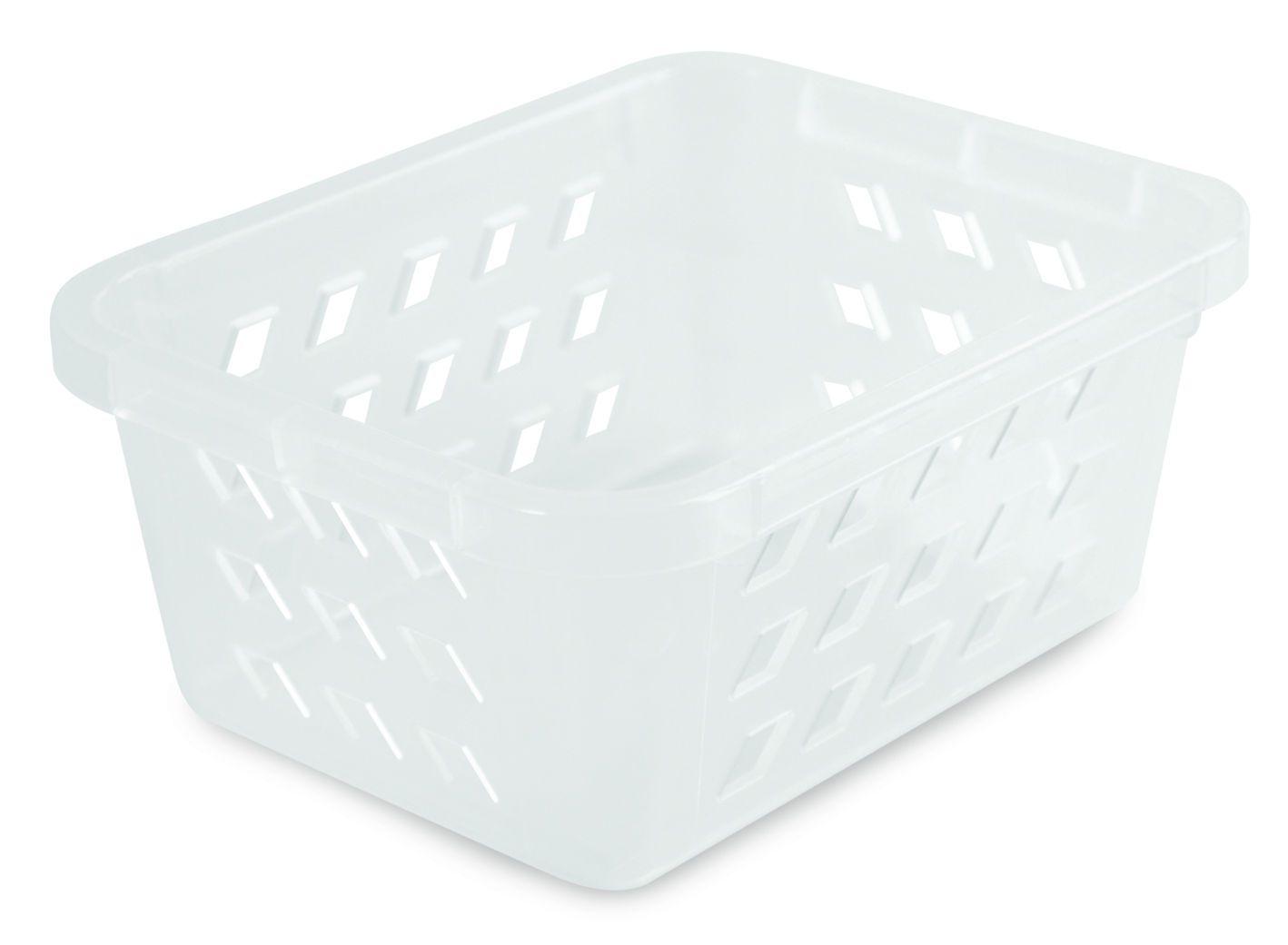 Cestinha Mini 14,2 x 11,0 x 6,3 cm Plástica Transparente