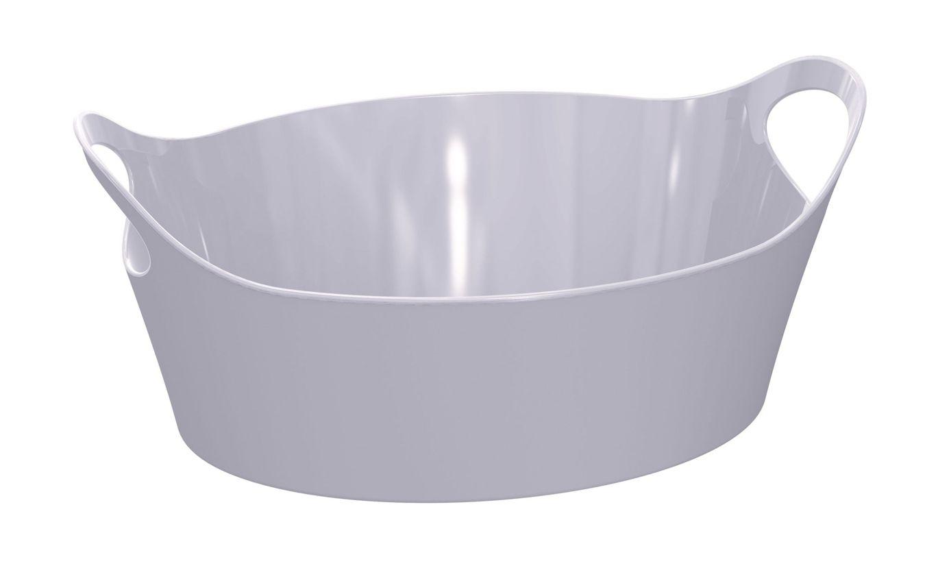 Cesto Plástico P Branco