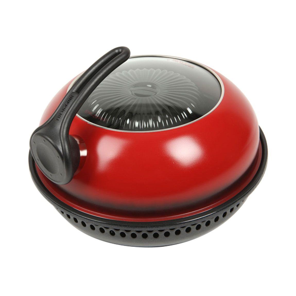 Churrasqueira para Fogão Direct Gas Fired Oven Vermelha