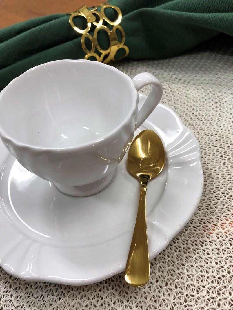 Colher de Chá Elite Ouro