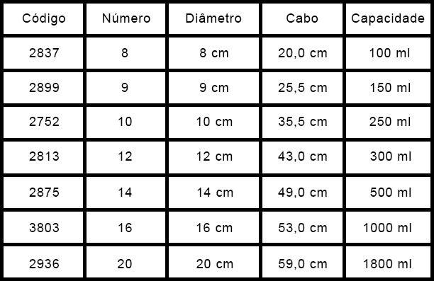 Concha de Alumínio 16 Hotel 1L