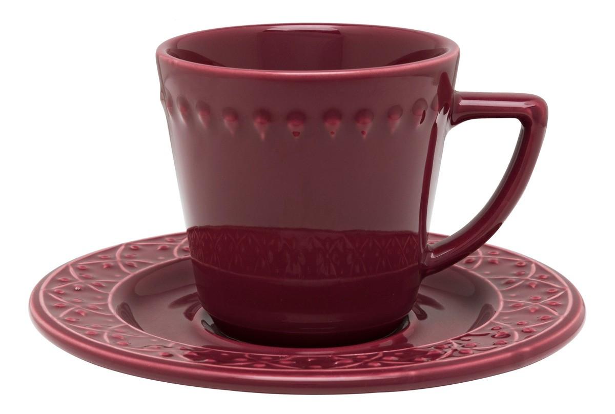 Conjunto de Chá 12pçs Mendi Corvina