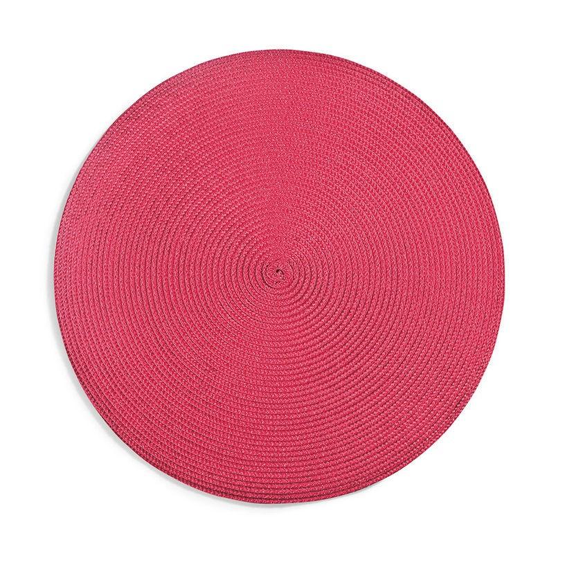 Jogo Americano Luna 38cm Vermelho