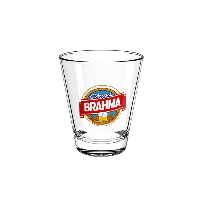 Copo de Vidro 216ml Old Fashioned Chopp Brahma