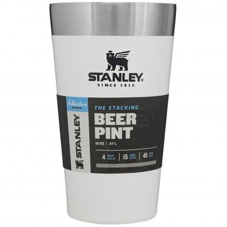 Copo Térmico de Cerveja Stanley  473ml Polar