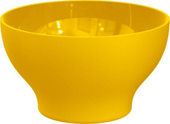 Cumbuca Plástico 500 ml Amarela
