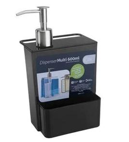 Dispenser Multi 600ml Preto