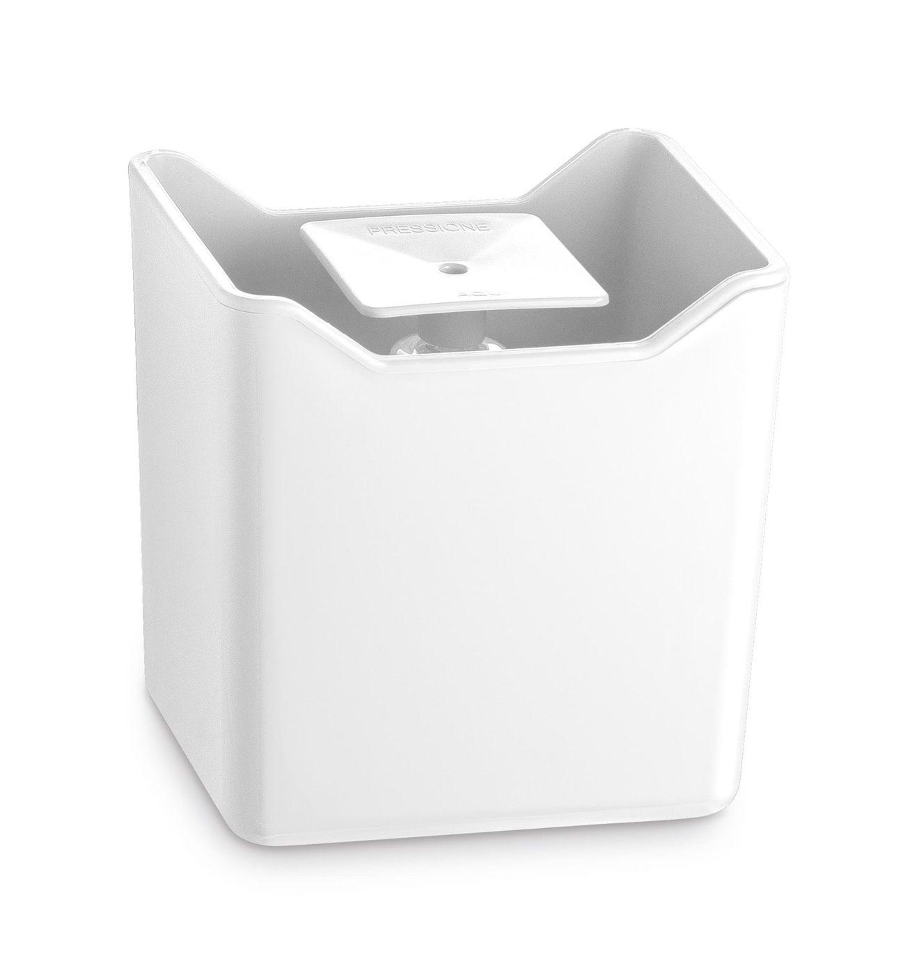 Dispenser Premium Branco de Plástico