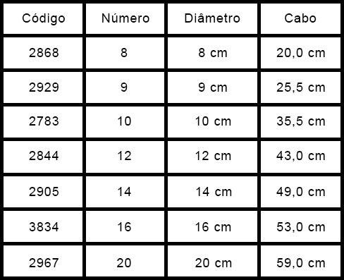 Escumadeira de Alumínio 16 Hotel 53cm