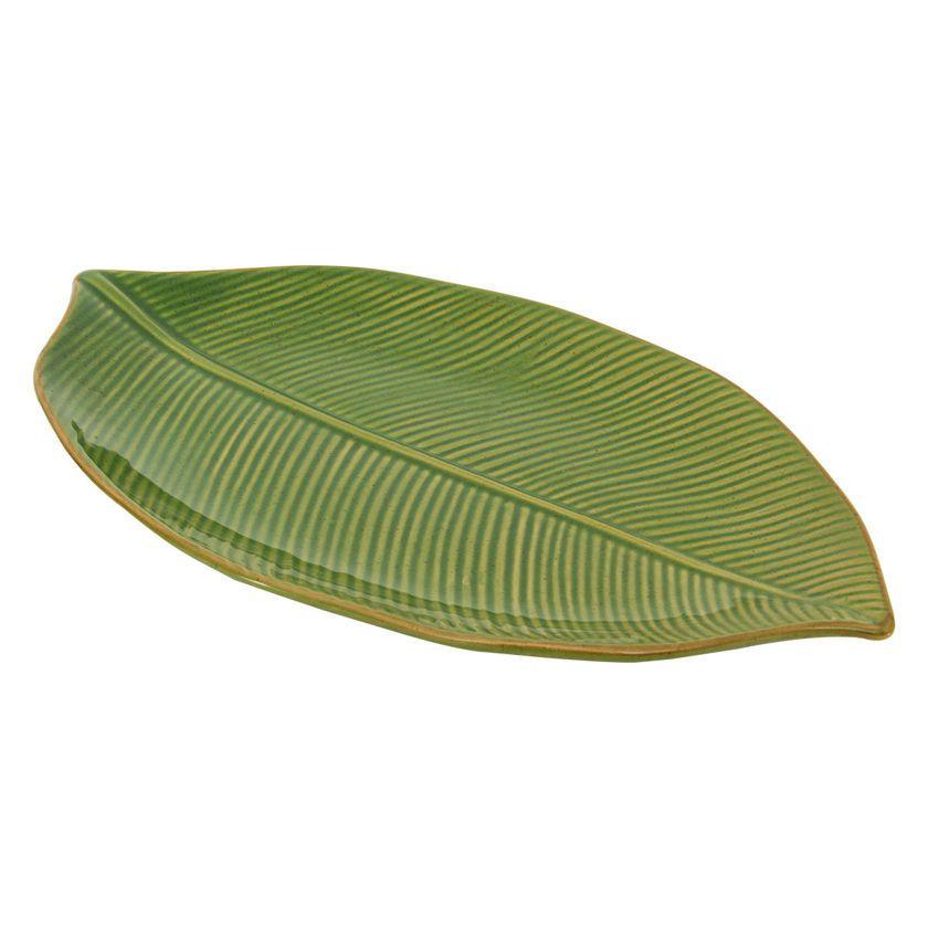 Folha Decorativa Banana Leaf Verde