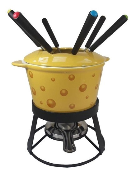 Fondue Com Base Cheese Cerâmico