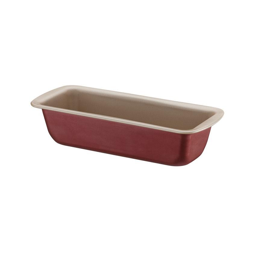 Forma de Pão 22cm Brasil Vermelha