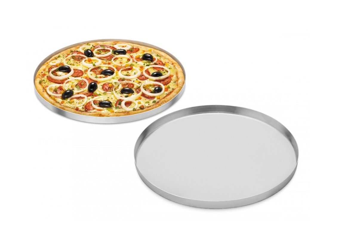 Forma de Pizza em Alumínio 30cm