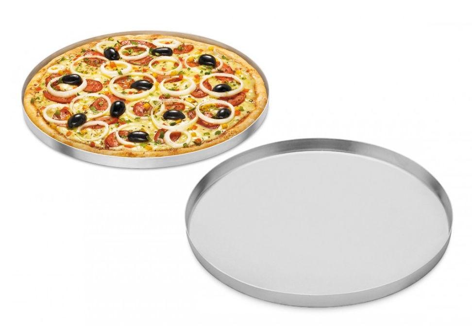 Forma de Pizza em Alumínio 35cm
