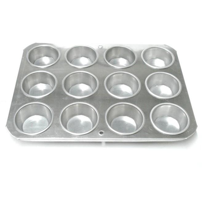 Forma Para Cup Cake Grande em Alumínio