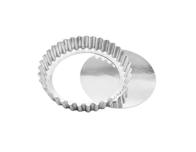 Forma Torta de Maçã Crespo Fundo Falso  Alumínio  30cm