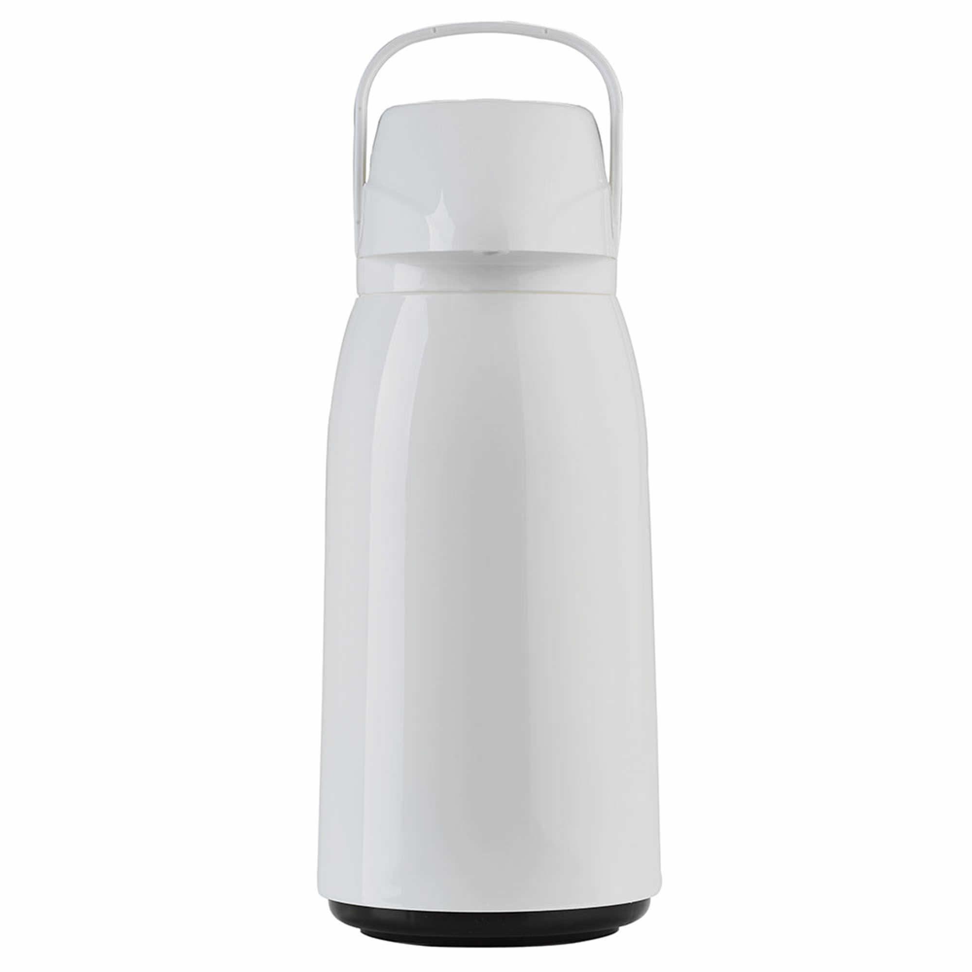 Garrafa Térmica de Pressão 1,8 L Air Pot New Branca