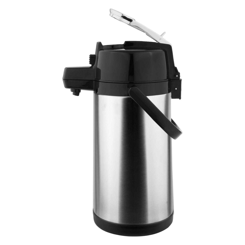 Garrafa Térmica Inox de Pressão 1,9L com Alavanca